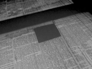 Damagedmicrofilm